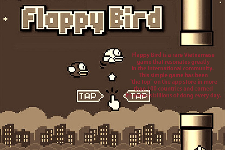 Bird Flappy Bird - Nguyen Ha Dong 2014