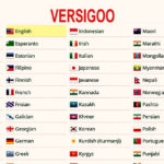 104 Version of LANGUAGE WORLD – Vi-VersiGoo original version & En-VersiGoo onset version