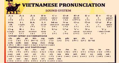 VIETNAMESE भाषा भियतनामी र विदेशीहरूका लागि - भियतनामी व्यञ्जनहरू - सेक्सन 3