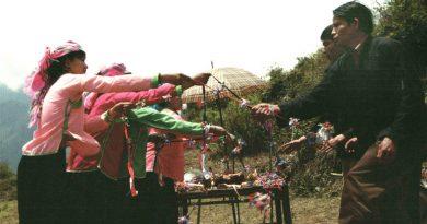 越南54個民族的GIAY社區