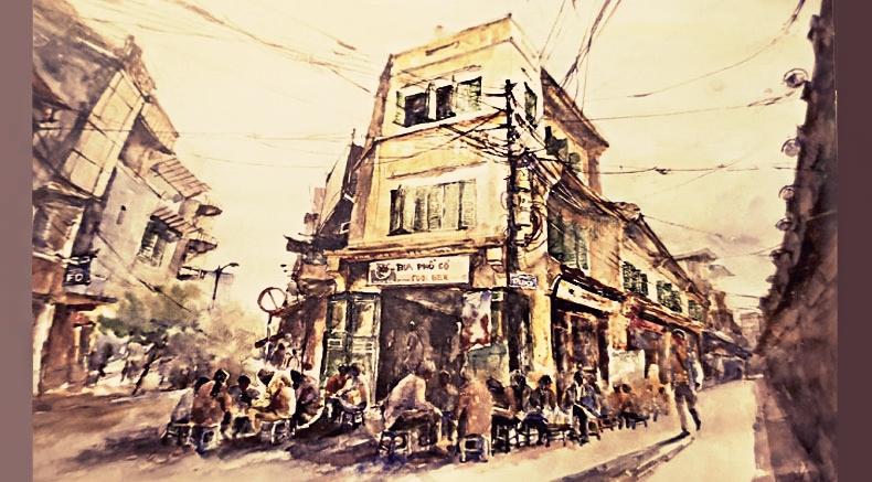 Antica strada di Hanoi - holylandvietnamstudies.com