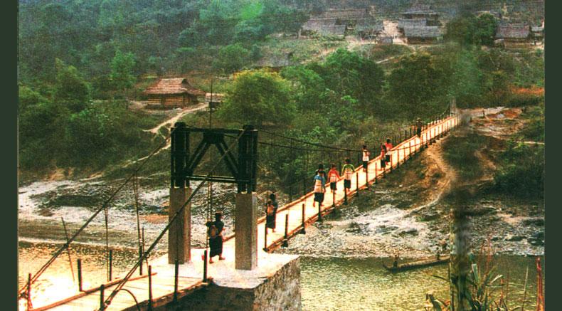 Падвесны мост Манга - Holylandvietnamstudies.com