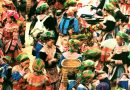 ベトナムの54の民族グループのモン族コミュニティ