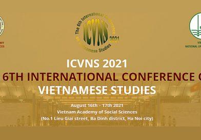 6. međunarodna konferencija o VIJETNAMSKIM STUDIJAMA - Odjeljak 1
